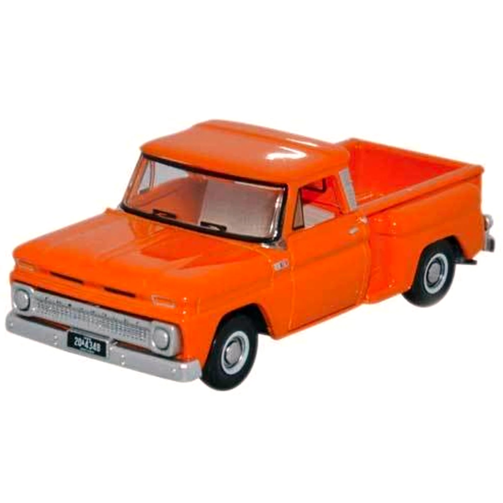 HO Scale: 1965 Chevrolet Stepside Pickup - Orange
