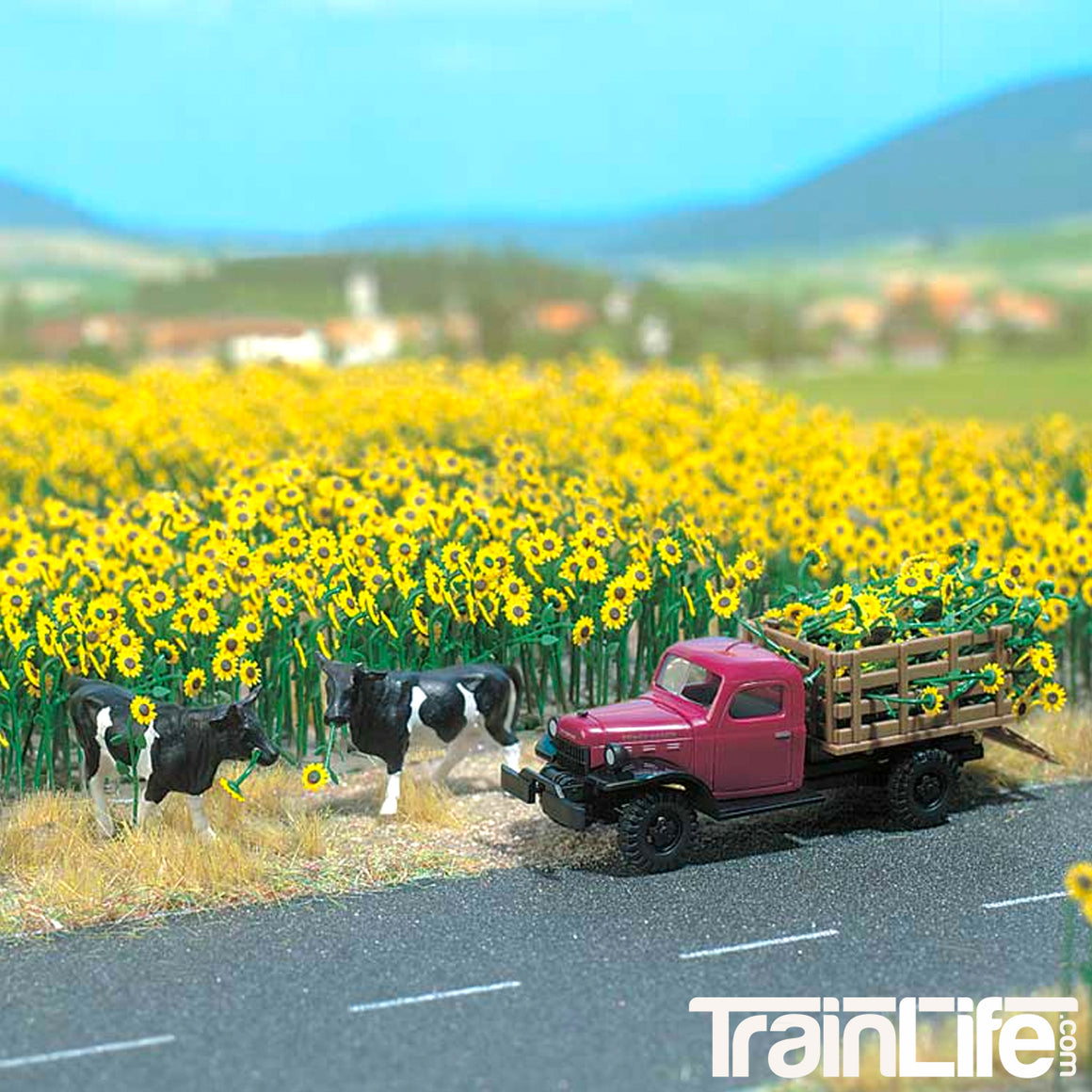 HO Scale: Sunflower Field - Kit