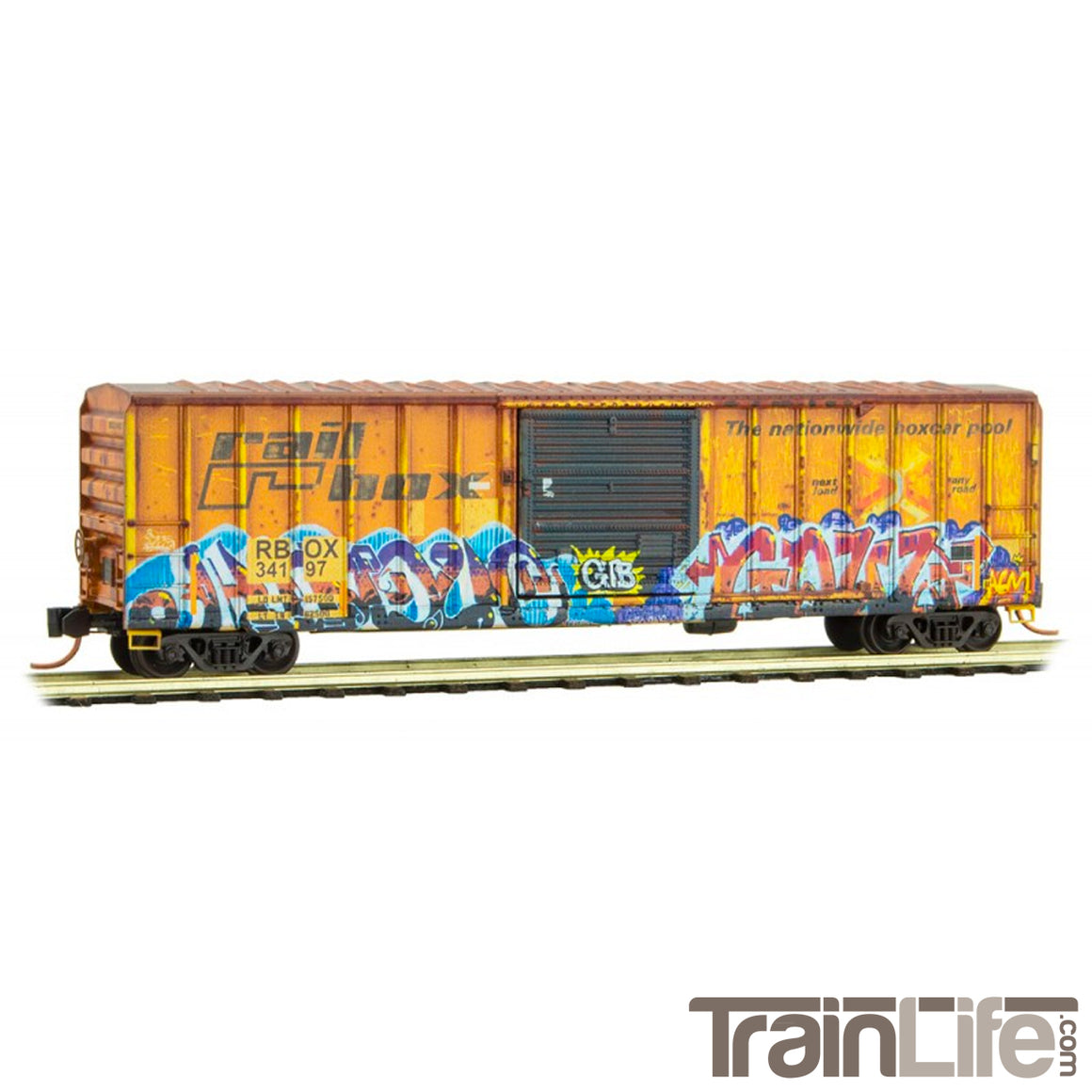 N Scale: Graffiti 2 Pack - Tell-Tale Heart