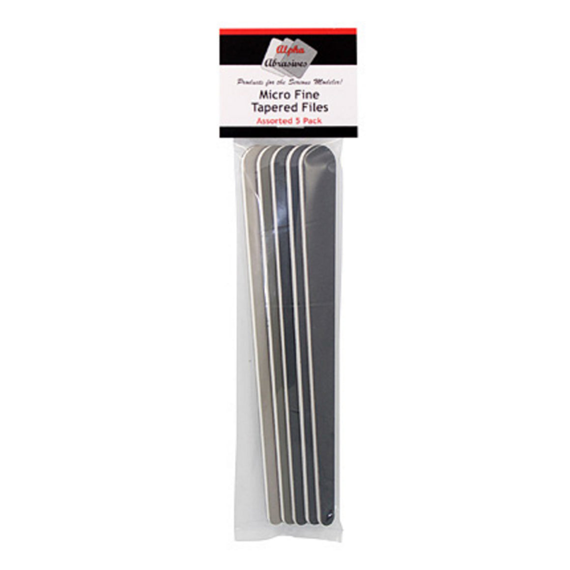 Micro Fine Tapered Files - 5-Pack