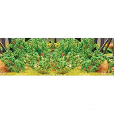 HO Scale: Tomato Plants - 18 Pack