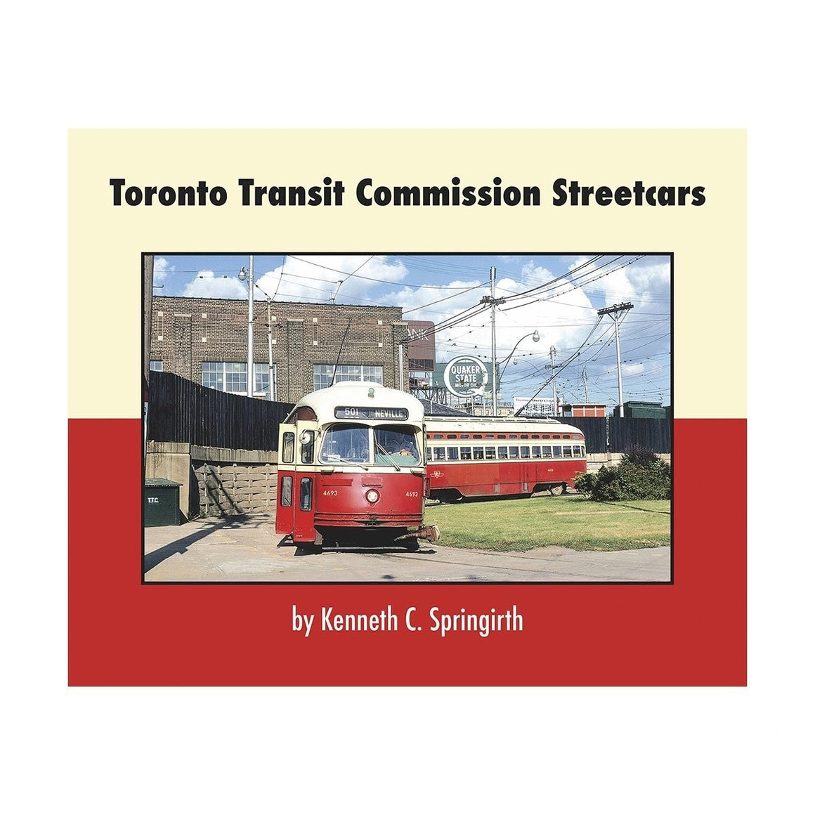Books: Toronto Transit Commission Streetcars