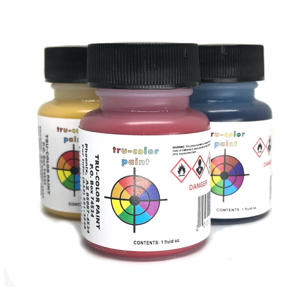 Tru-Color Paints - 1oz. - Air Brush Ready - Railroad Specific Colors