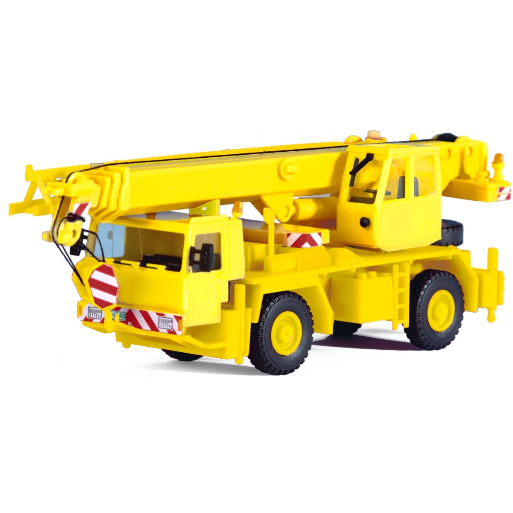HO Scale: 2-Axle Truck Crane - Kit