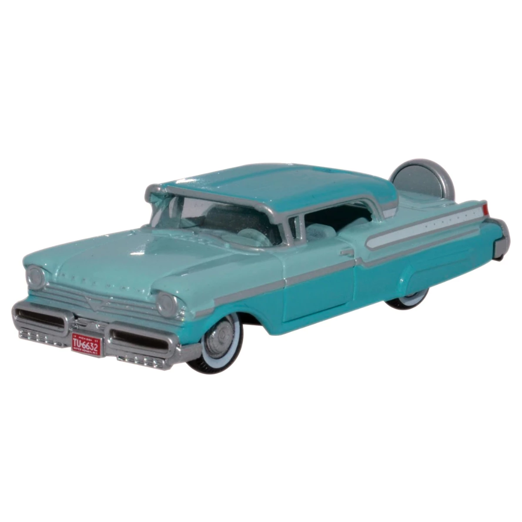 HO Scale: 1957 Mercury Turnpike - Tahitian Green, Spring Valley Green
