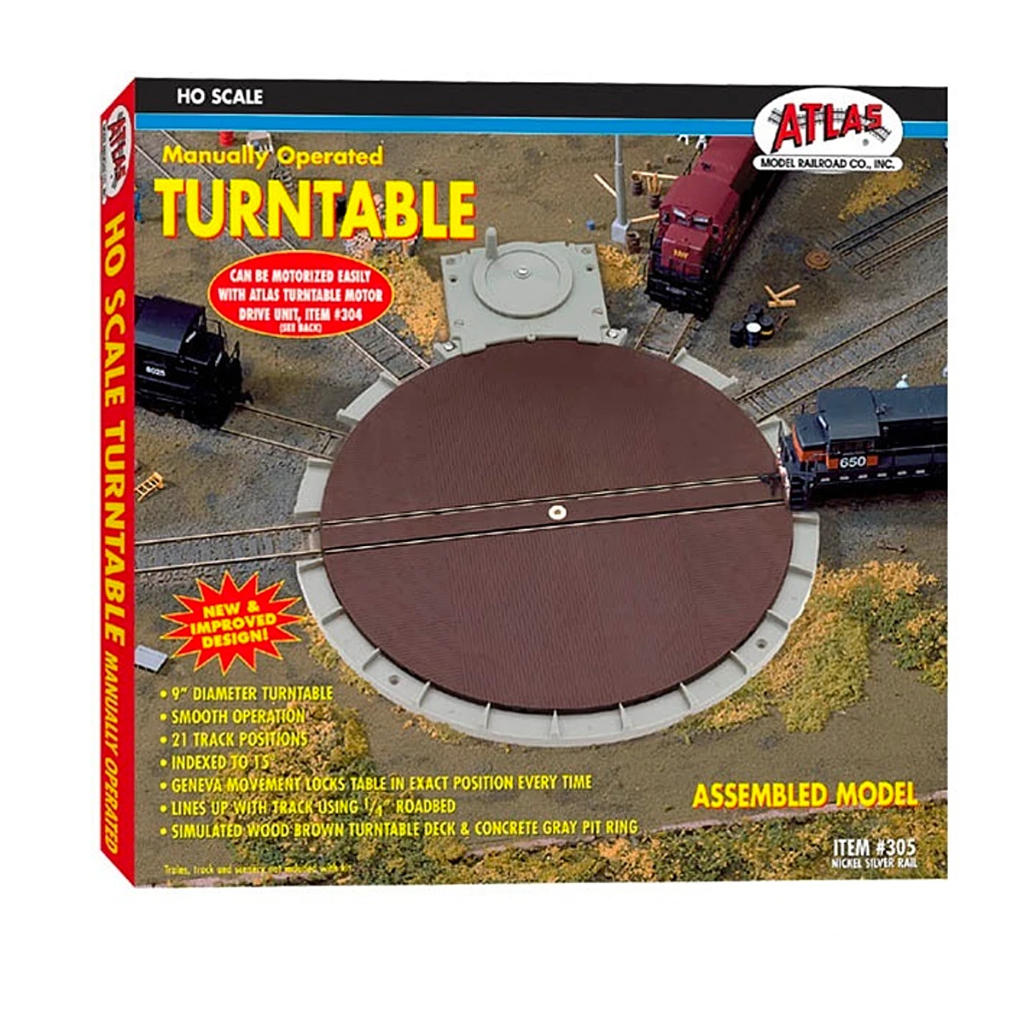 HO Scale: 21-stall Turntable - Manual