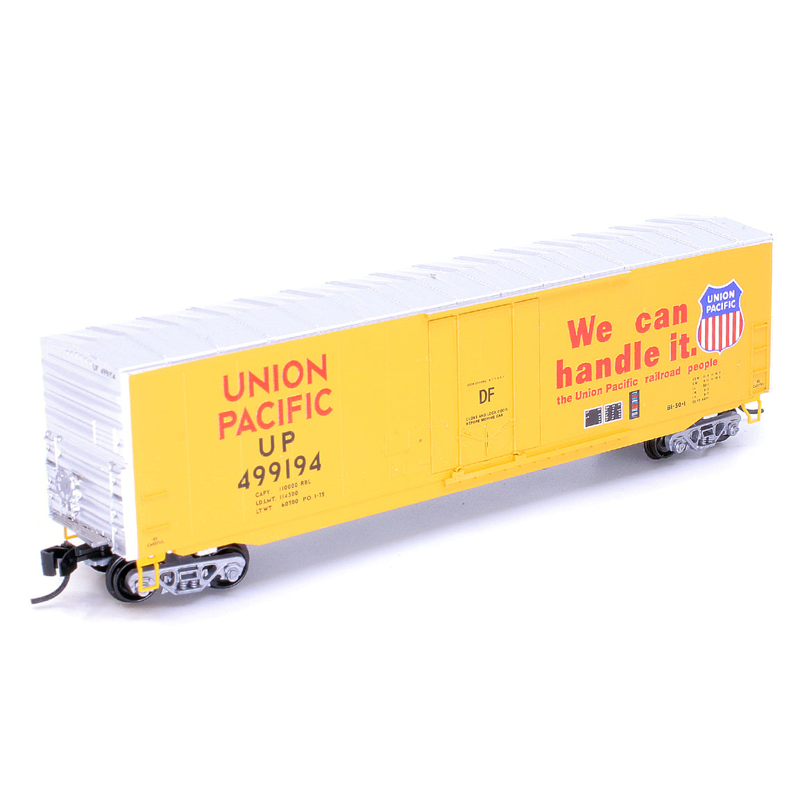 N Scale: 50' Standard Boxcar - Union Pacific