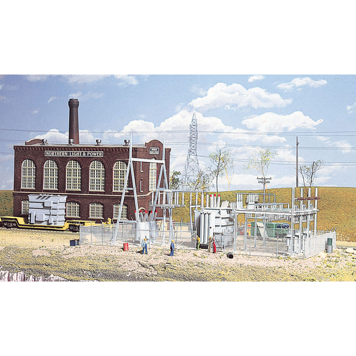 HO Scale: Northern Light & Power Substation - Kit