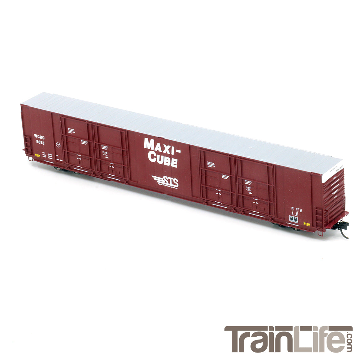 N Scale: Thrall 86' Hi-Cube Quad-Door Auto Parts Boxcar - Washington Central