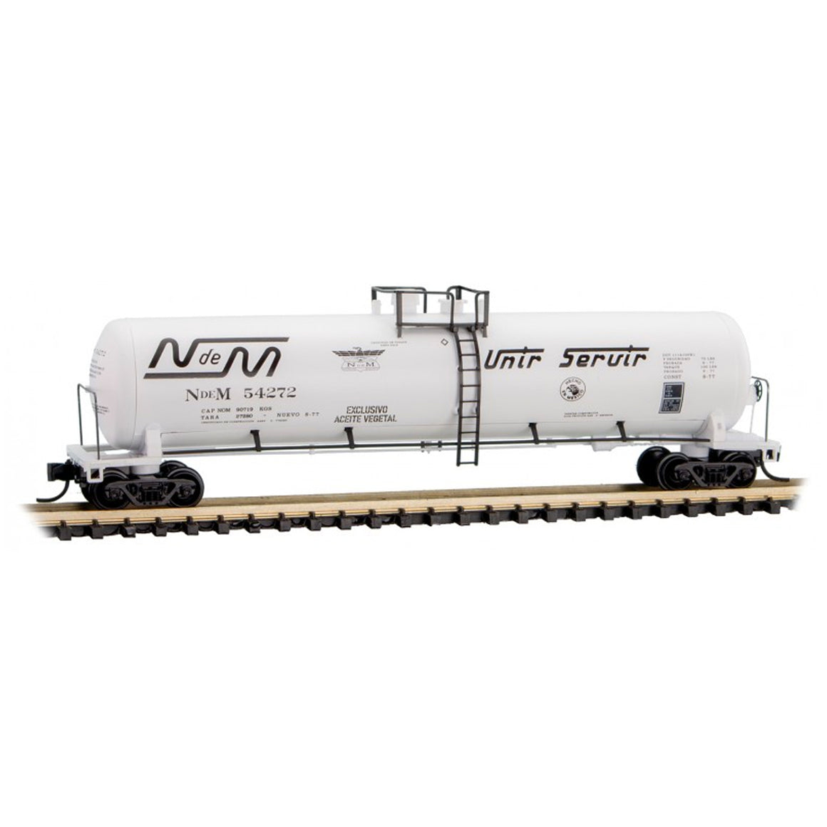 N Scale: 56' General Service Tank Car - NdeM 'Vegetable Oil Service'