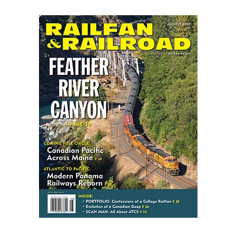 Magazine: Railfan & Railroad - August 2020