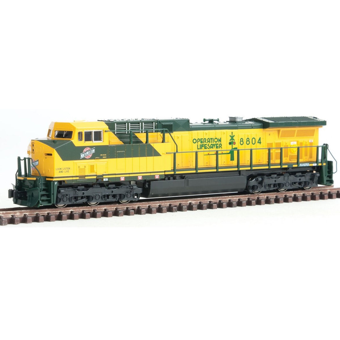 N Scale: GE AC4400CW - DCC Equipped - Chicago & North Western