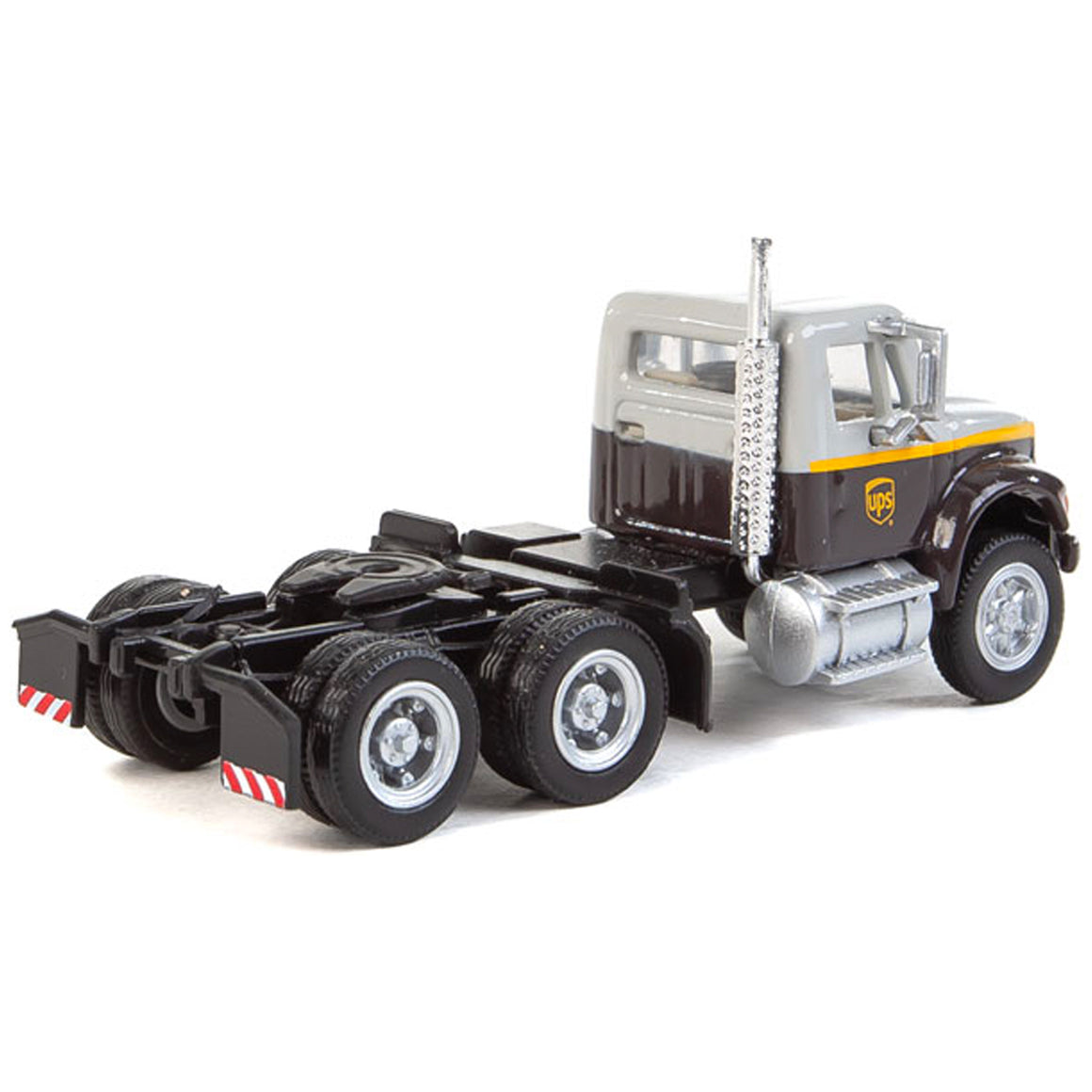 HO Scale: International 4900 Dual Axle Semi Tractor - UPS 'Gray'