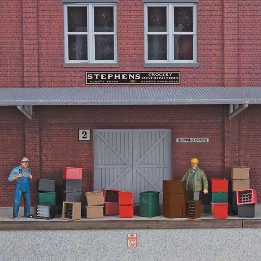 HO Scale: Beverage Crates and Bottles