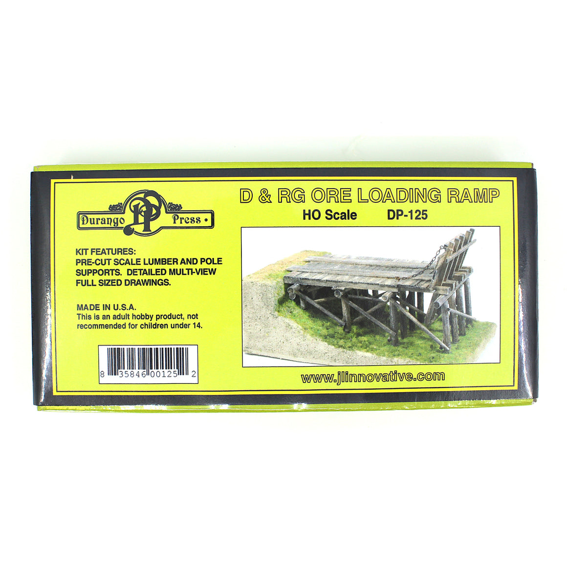 HO Scale: Ore Loading Ramp - Kit