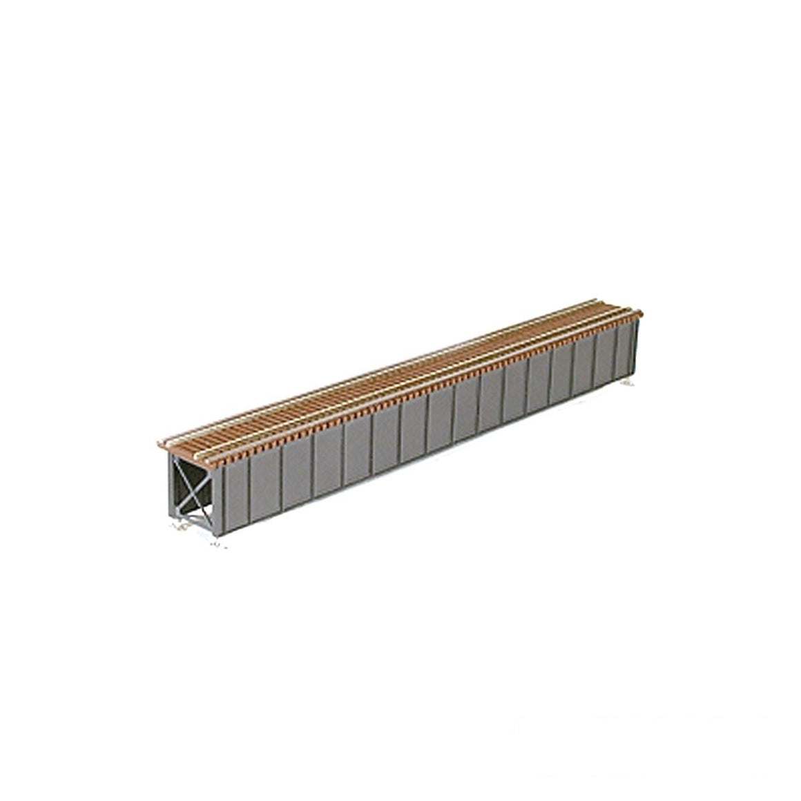 HO Scale: Open Deck Girder Bridge - 85-Foot
