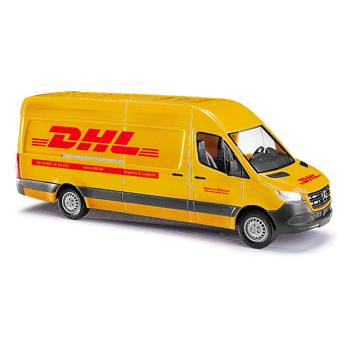 HO Scale: Mercedes Benz Sprinter Van - DHL