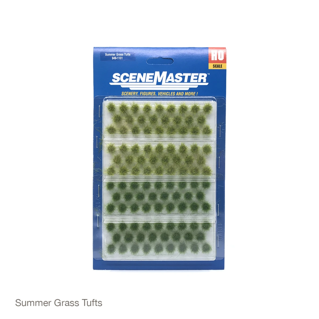 HO Scale: Grass Tufts - 104 Pack