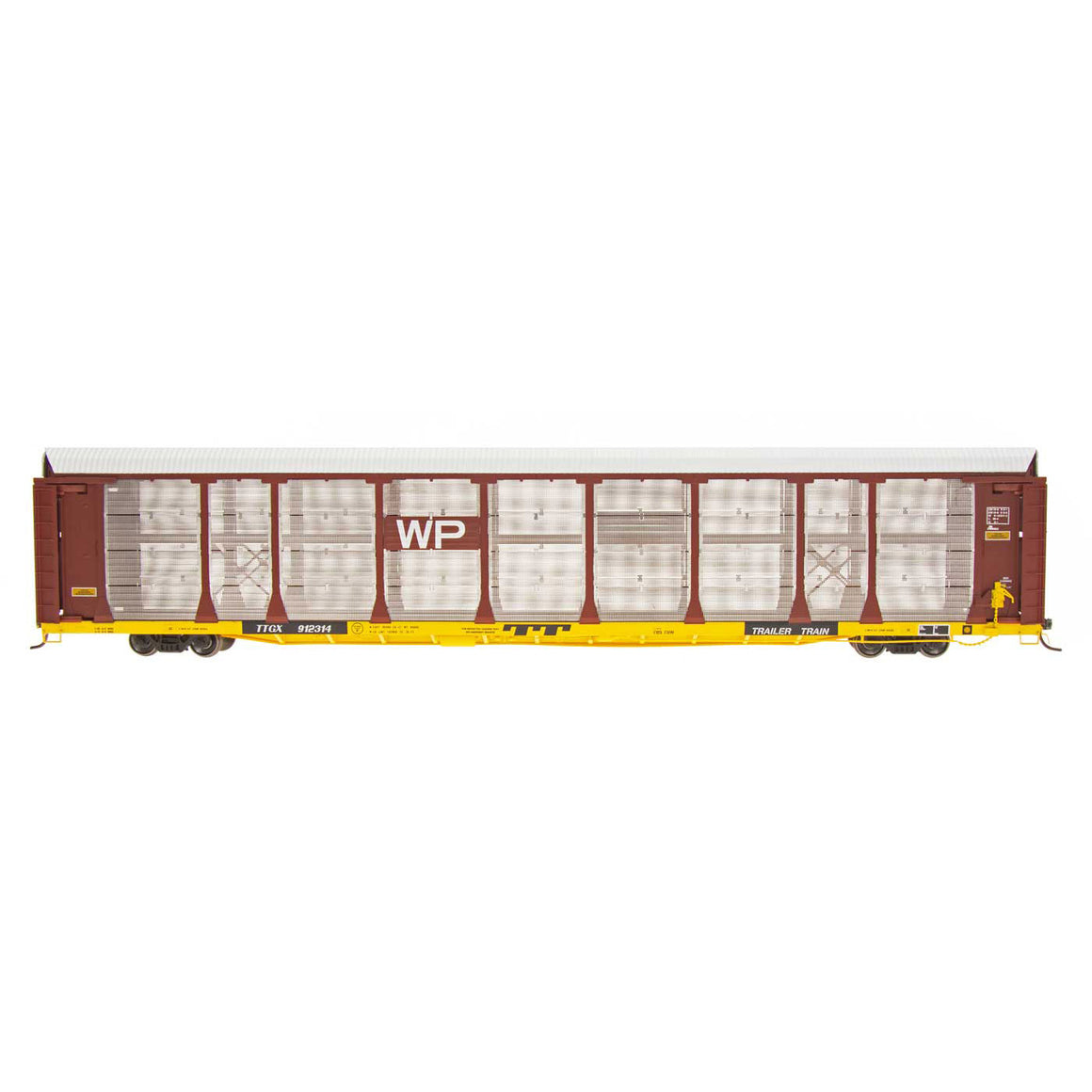 HO Scale: Bi-Level Auto Rack - Western Pacific