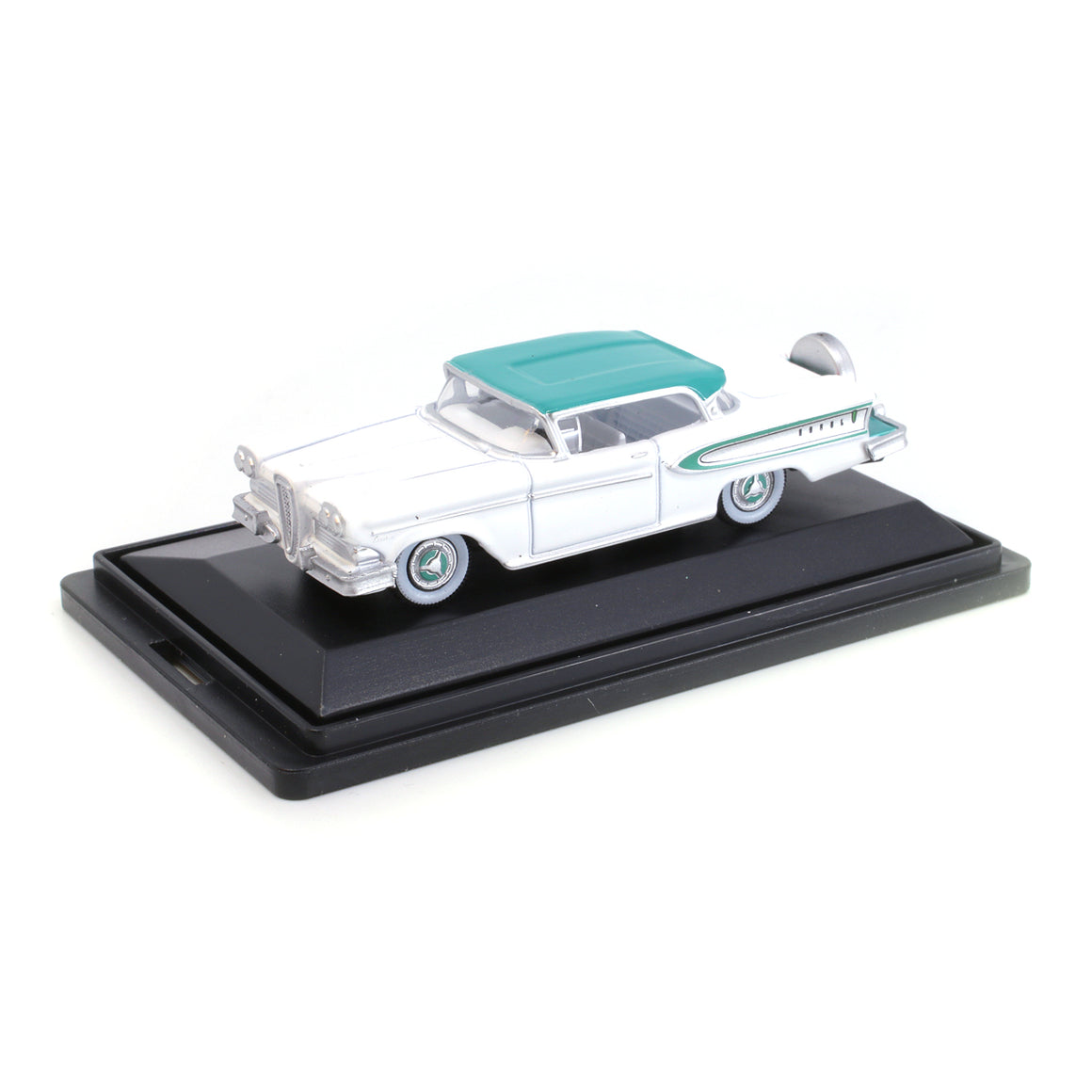 HO Scale: 1958 Ford Edsel Citation - Snow White, Turquoise