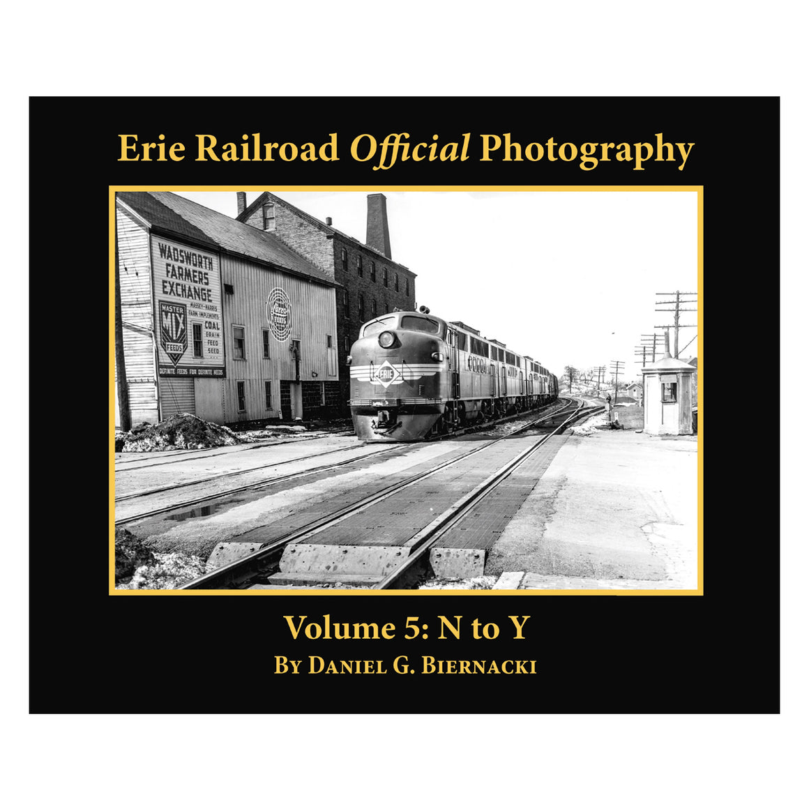 Books: Erie Railroad Official Photography vol.5: N to Y