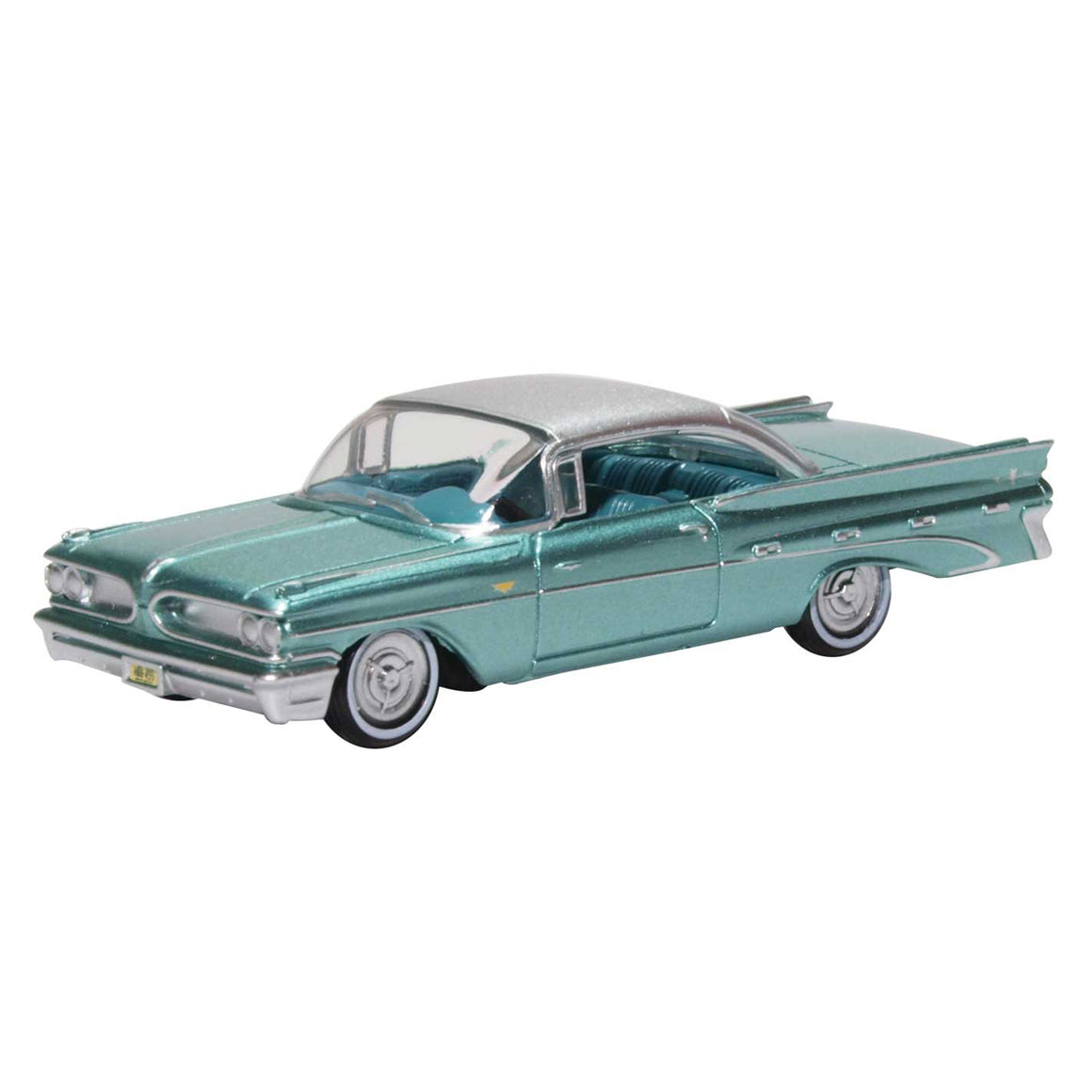 HO Scale: 1959 Pontiac Bonneville - Seaspray Green