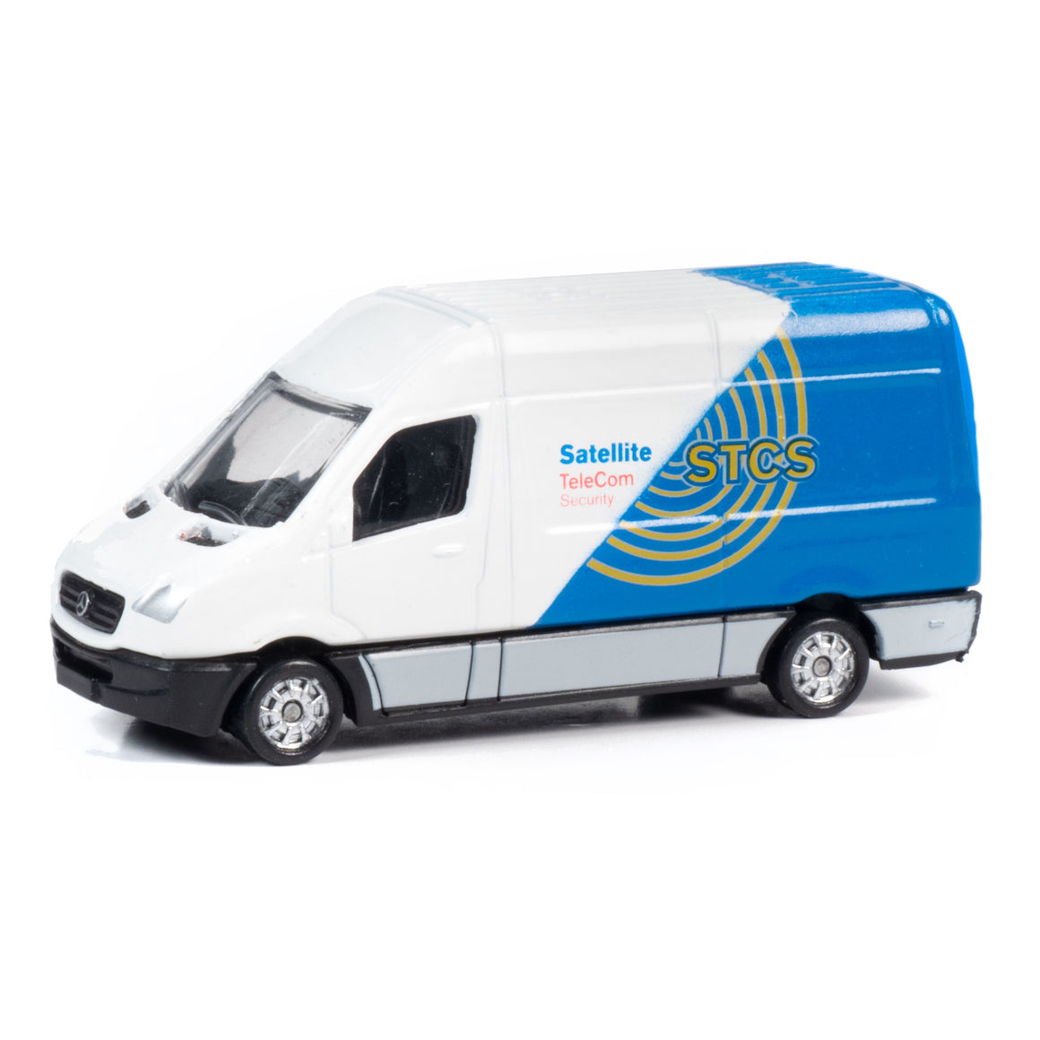 HO Scale: 1990's Sprinter Van - STCS TeleCom-Security