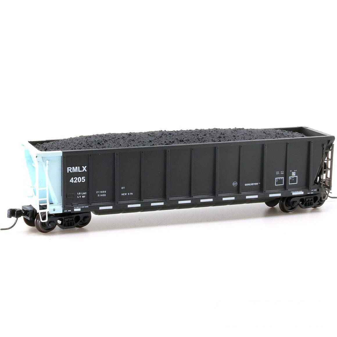 N Scale: Coalveyor Bathtub Gondola - RMG Leasing RMLX