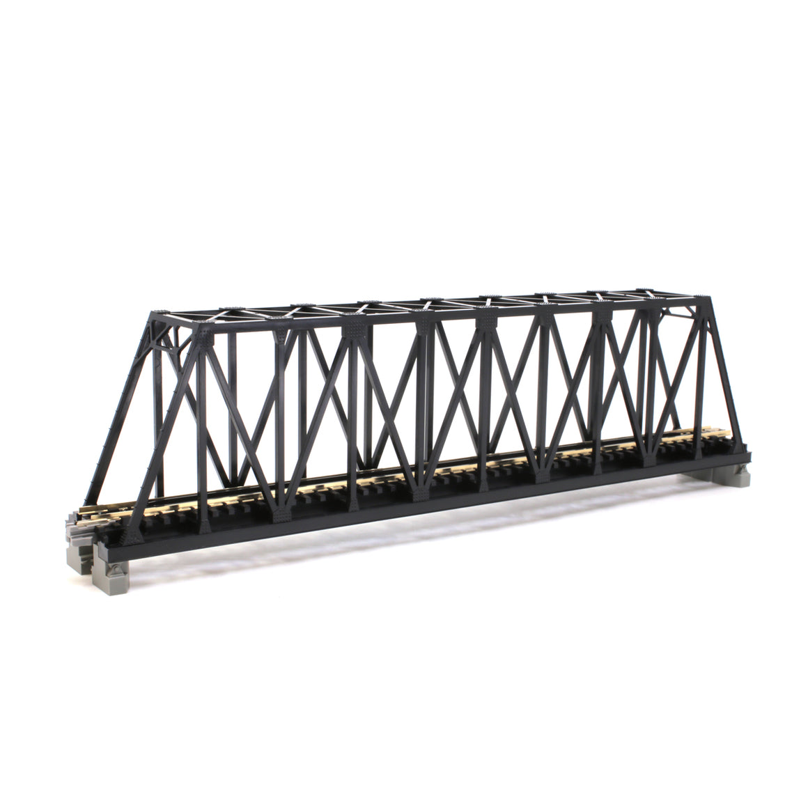 N Scale: Kato Unitrack - Single Track - Single-Truss Bridge