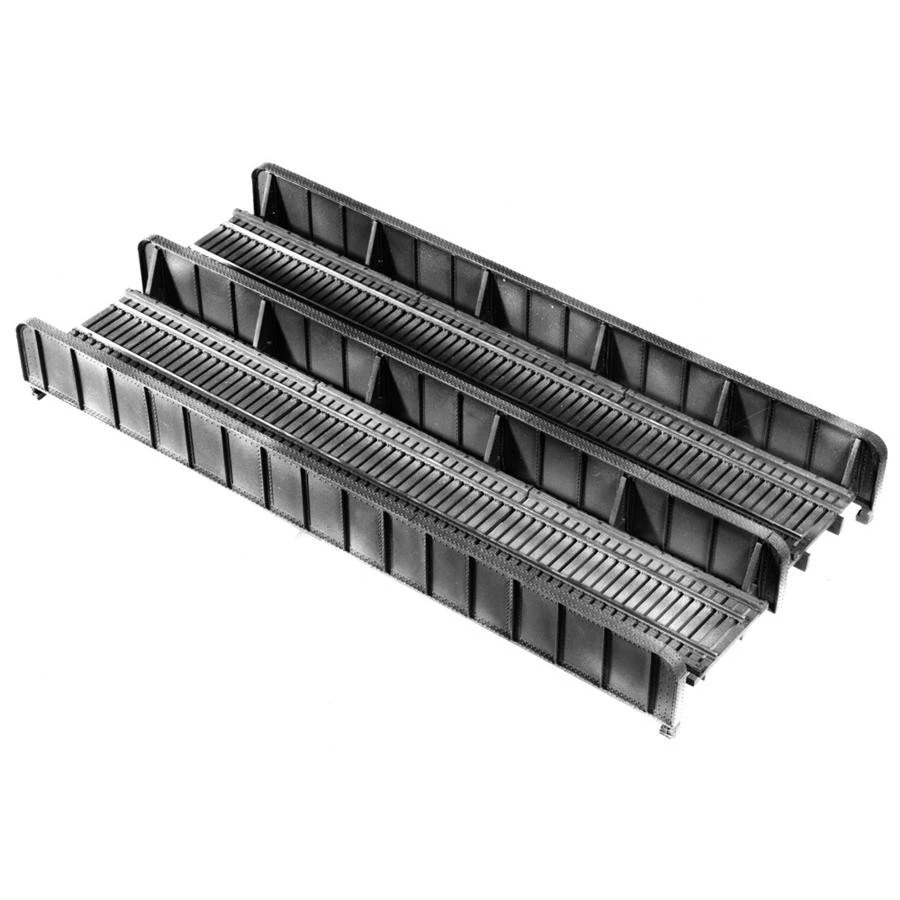 HO Scale: 72 Foot Double Track Plate Girder Bridge - Kit