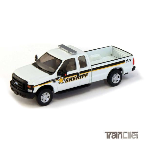 HO Scale: Lighted Ford F-250 XLT - Sheriff