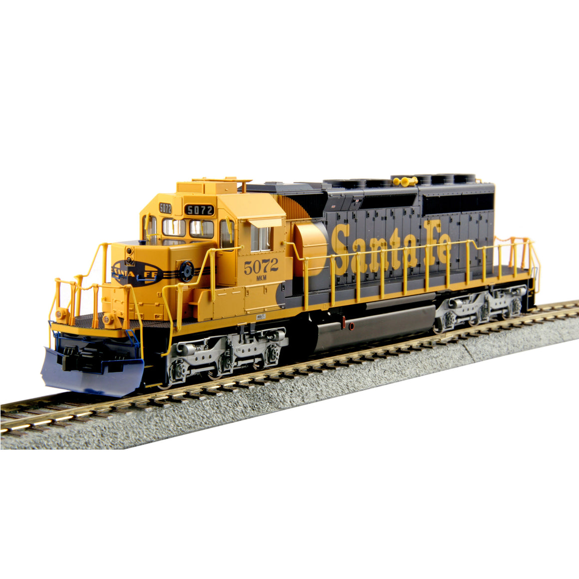 HO Scale:  EMD SD40-2 Mid-Production - DCC Equipped - ATSF