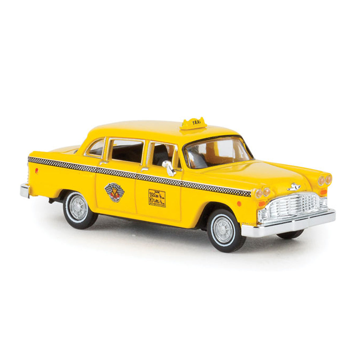 HO Scale: Checker Marathon Taxicab - New York City