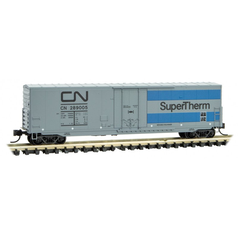 N Scale: 50' Standard Boxcar - Canadian National