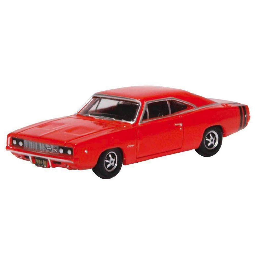 HO Scale: 1968 Dodge Charger - Red