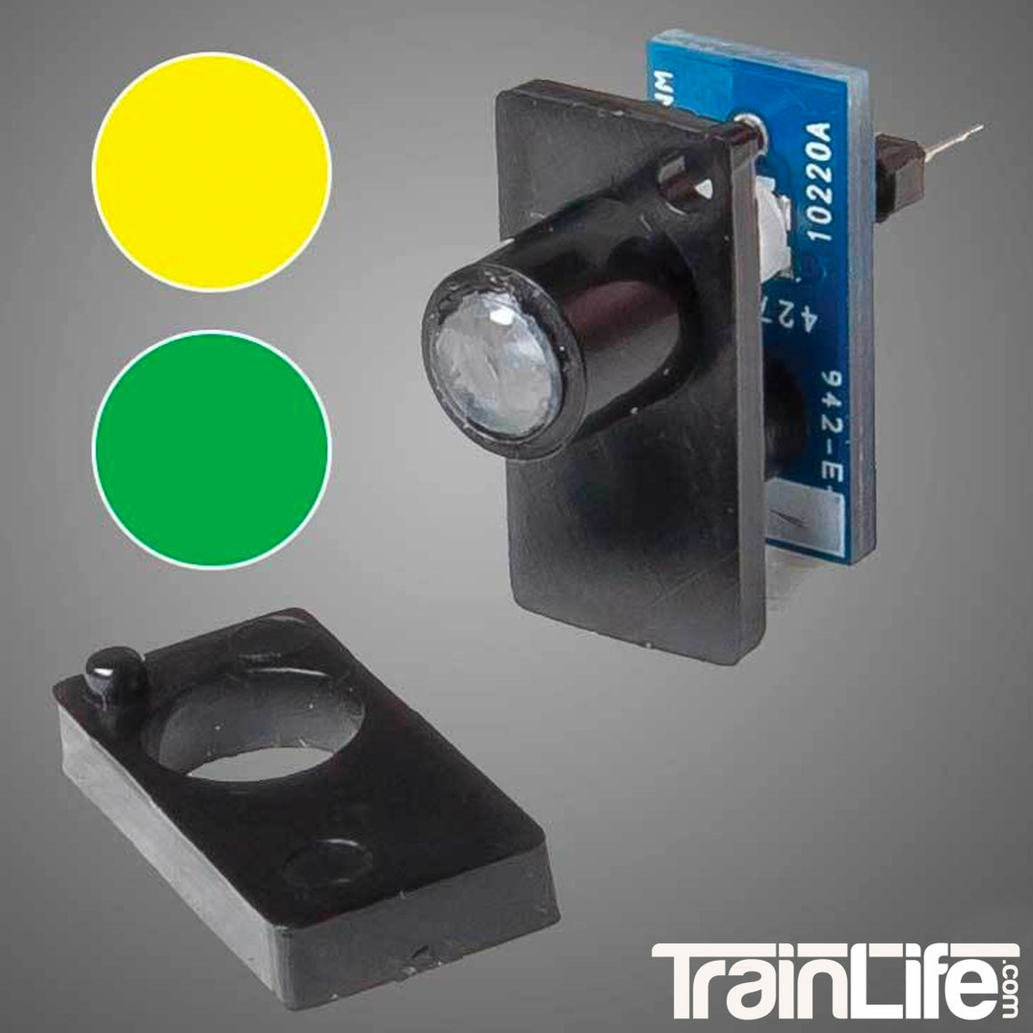Fascia Indicator: Yellow / Green - Walthers Layout Control System