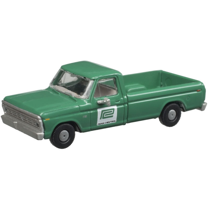 N Scale: 1973 Ford F-100 Pickup Truck - PC - 2 Pack