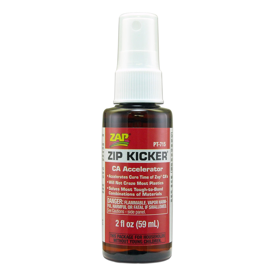 Zip-Kicker Spray CA Glue Accelerator