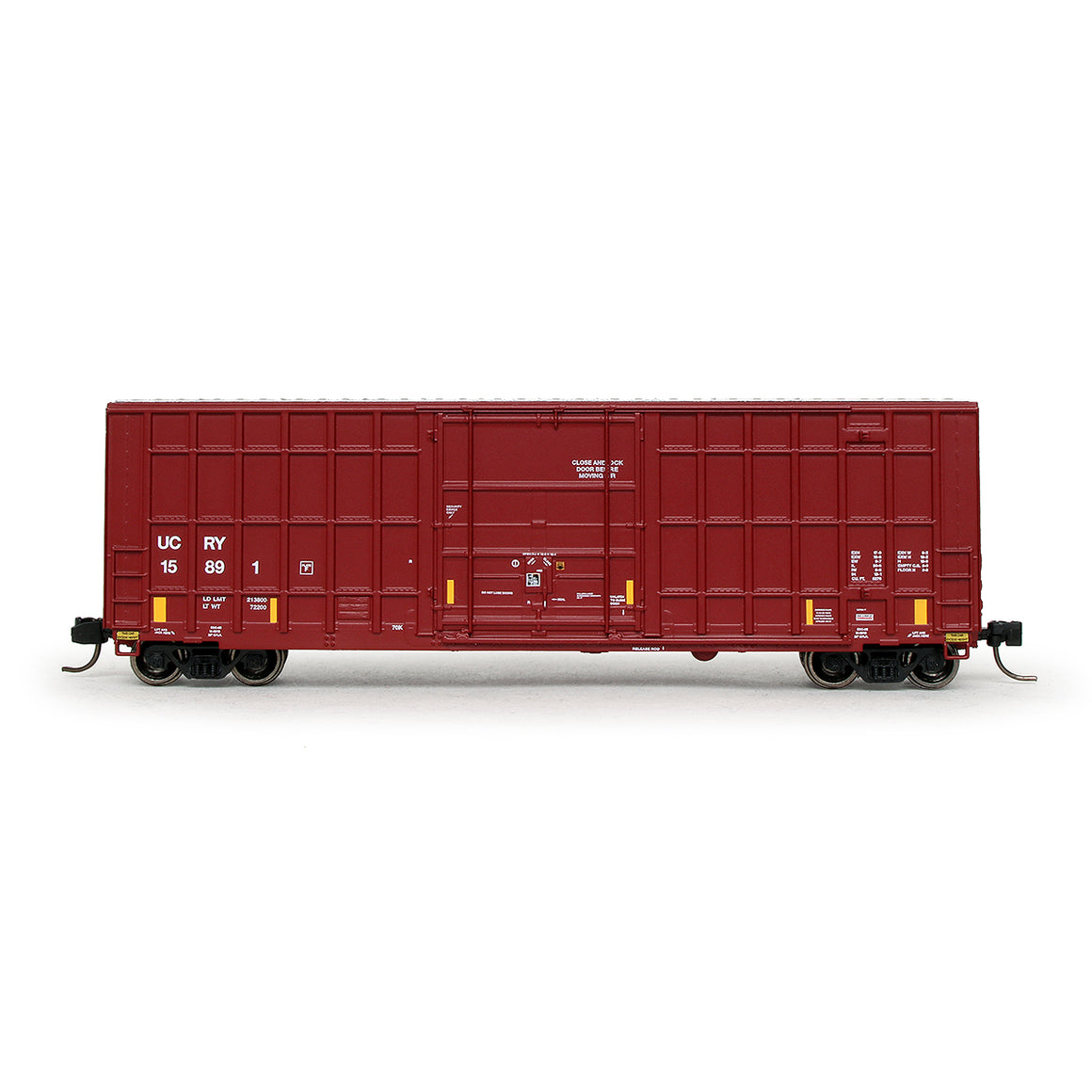 N Scale: Trinity 6275 Boxcar - Utah Central Railway - '2017 As-Delivered'
