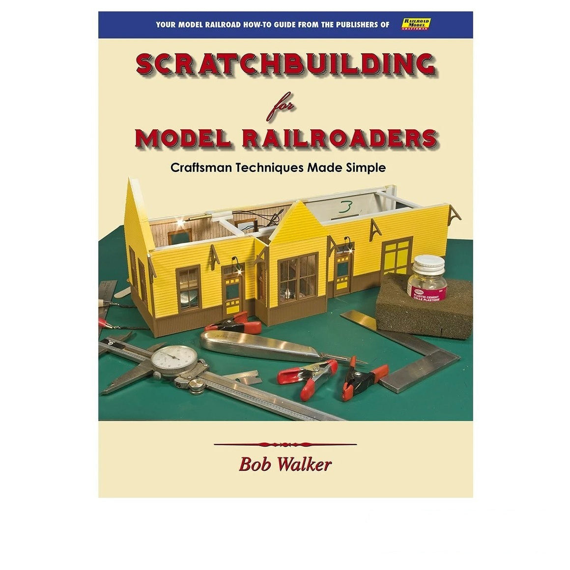 Books: Scratchbuilding for Model Railroaders