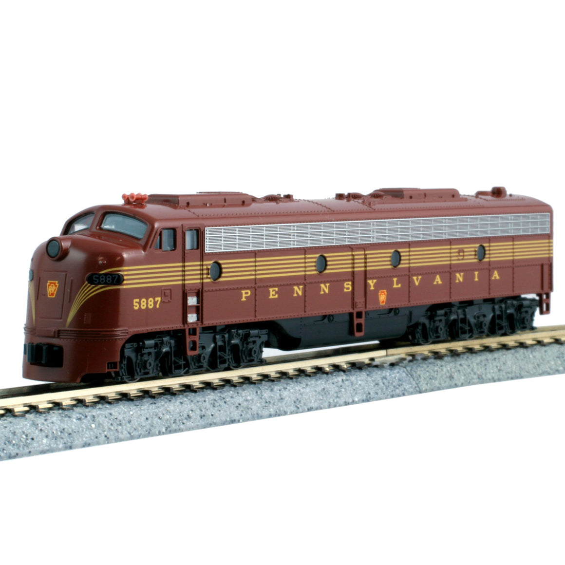 N Scale: EMD E8A - DCC Ready - Pennsylvania