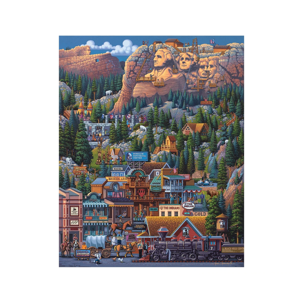 Puzzle: The Black Hills - Dowdle