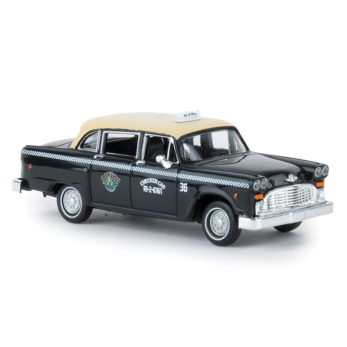 HO Scale: Checker Marathon Taxicab - Dallas