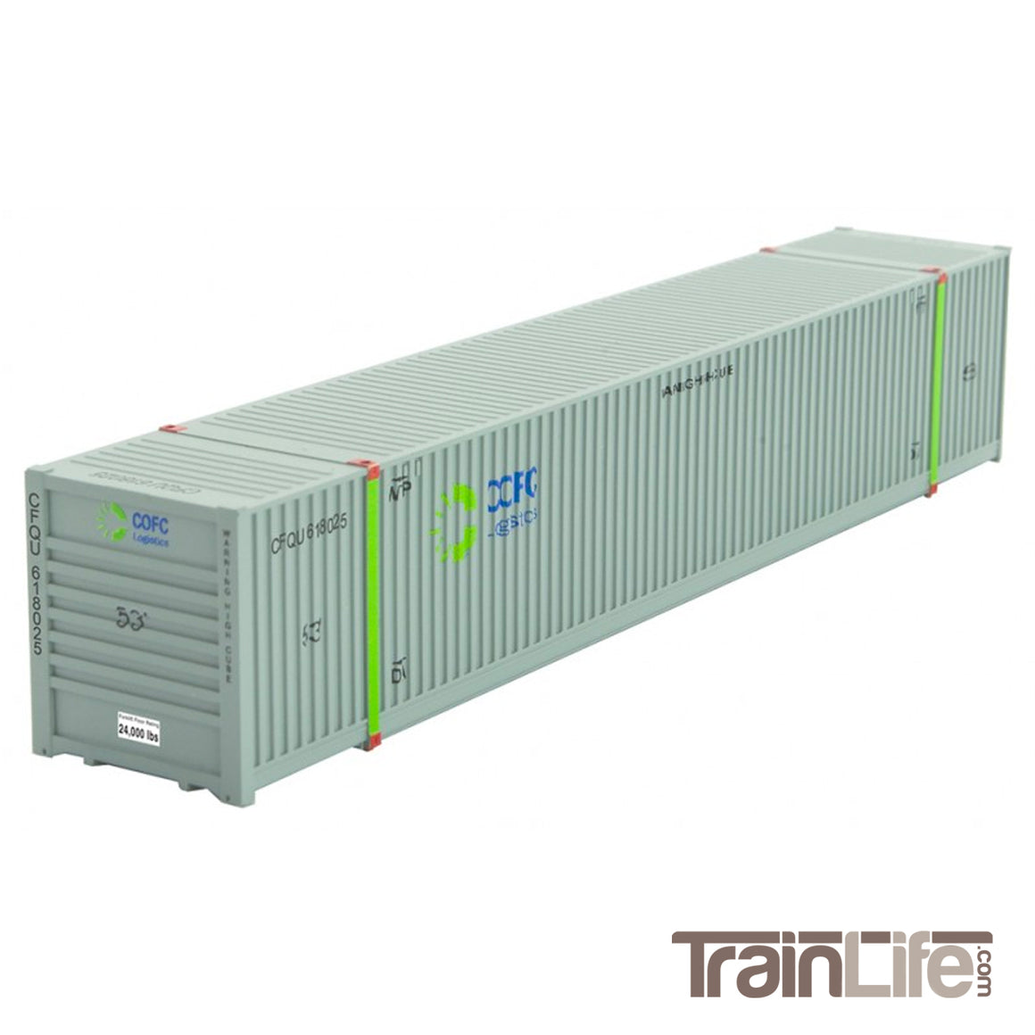 N Scale: 53' Corrugated Container - COFC Logistics