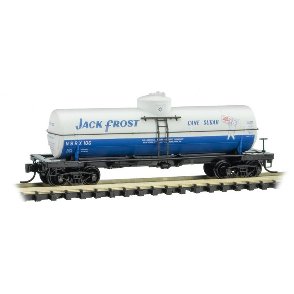 N Scale: 39' Single Dome Tank Car - Jack Frost