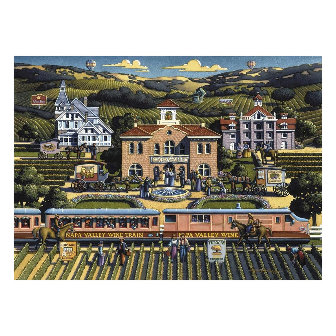 Puzzle: Napa Valley - Dowdle