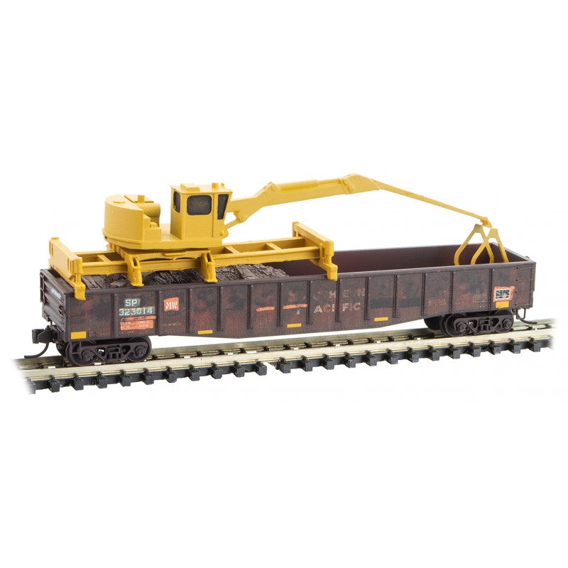 N Scale: Tie Loader - Union Pacific - 3 Pack