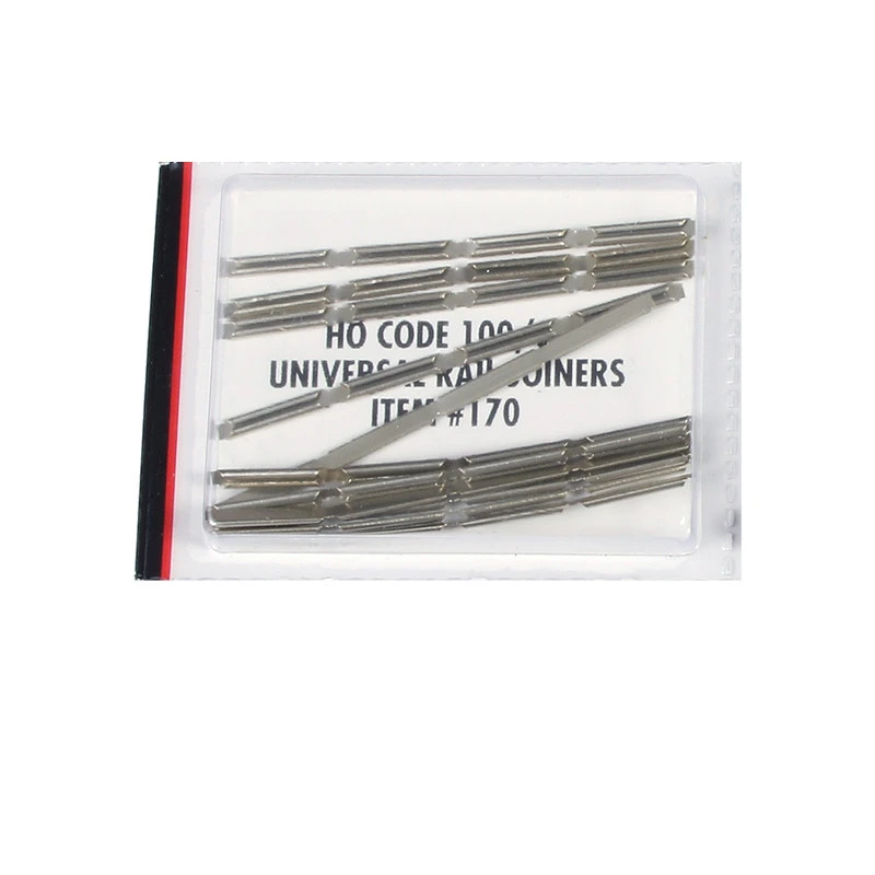 HO Scale: Universal Rail Joiners (Nickel Silver)