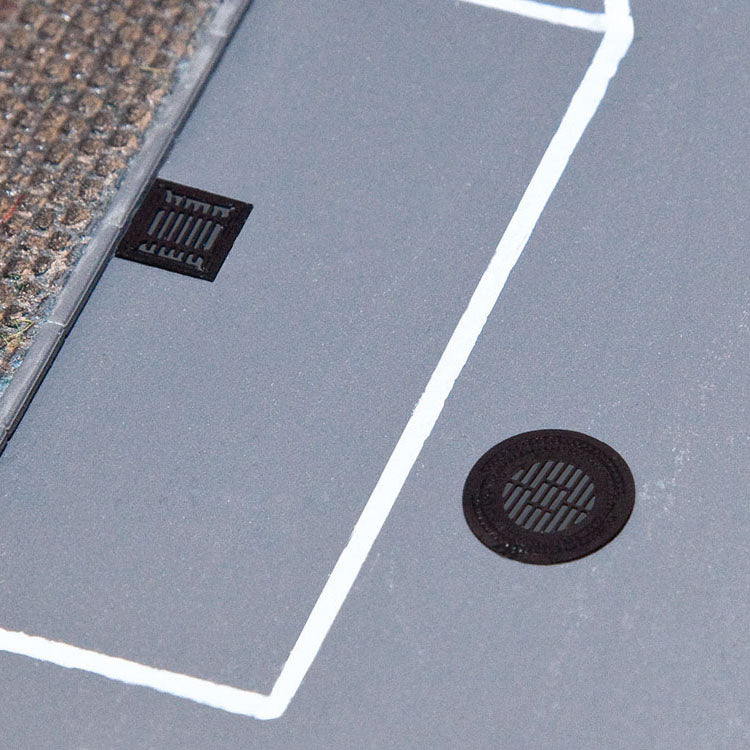 HO Scale: Manhole Covers & Sewer Grates