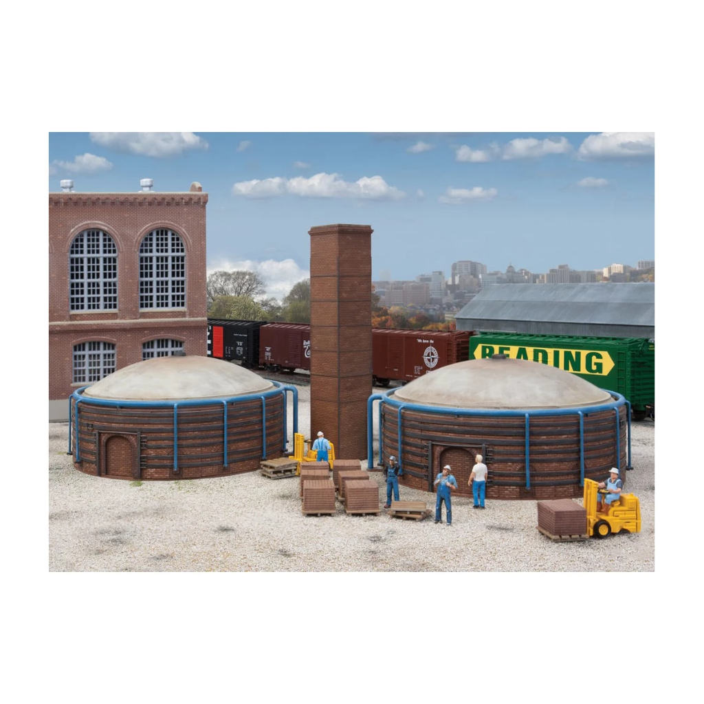 HO Scale: Brick Kilns - 2 Pack - Kit
